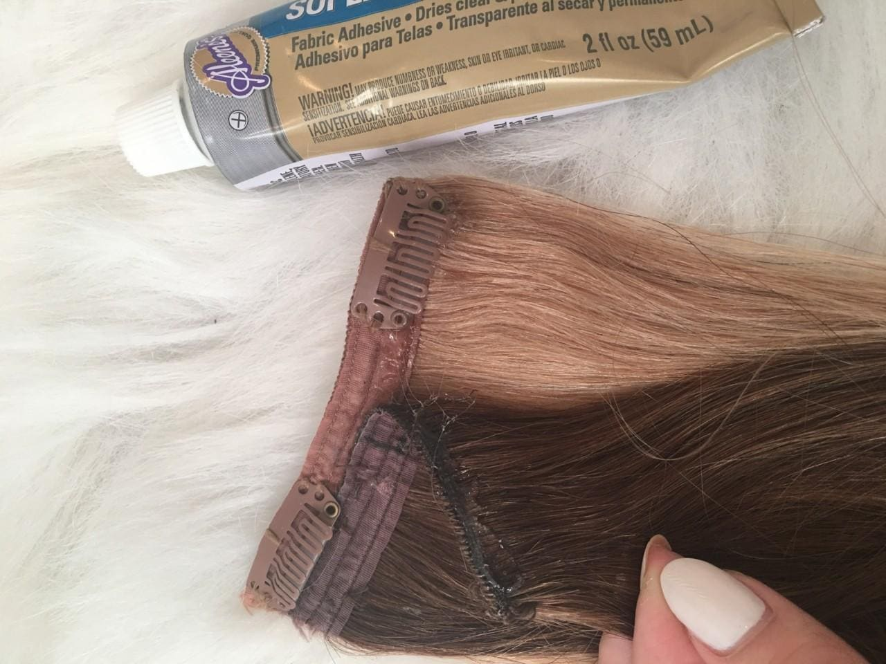 Hair extensions easy highlights kerinamango press firmly when done and remember to leave it to dry for a good few hours before using it because you dont want to pull out your own hair pmusecretfo Images