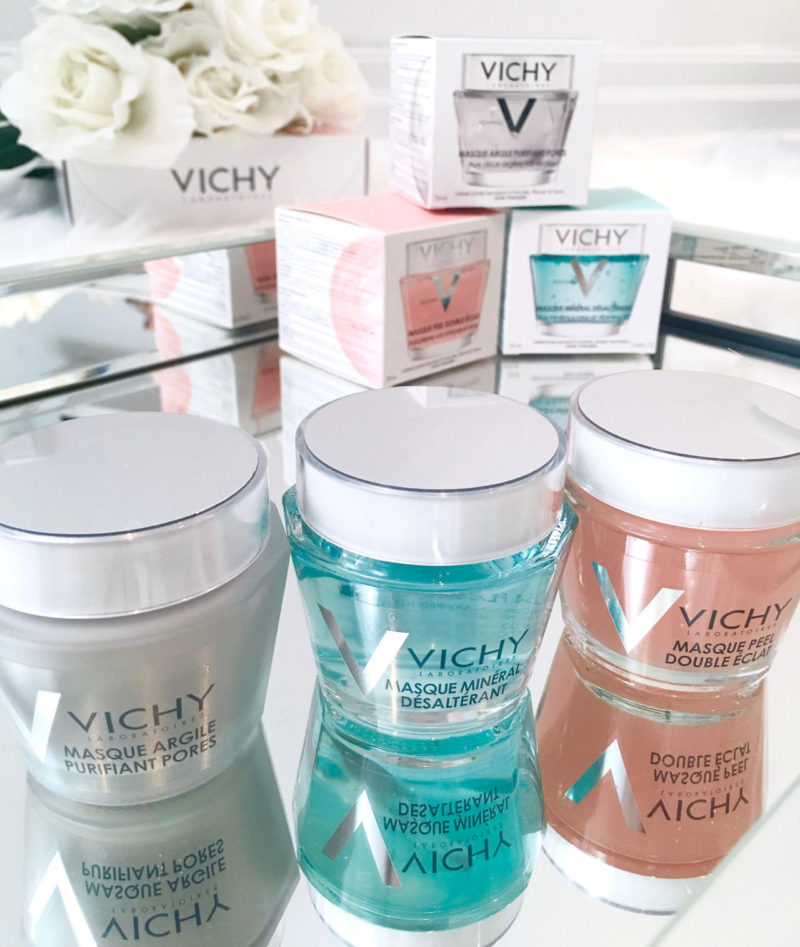 Vichy masks review by Kerina Mango