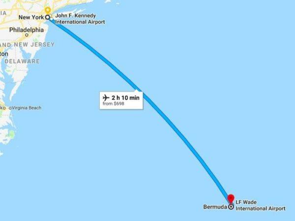 NewYork To Bermuda by Kerina Wang