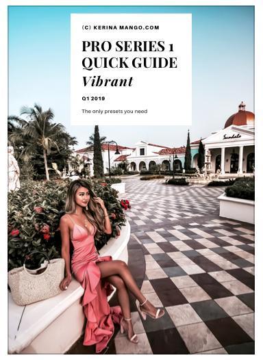 quick guide cover kerina wang pro series 1
