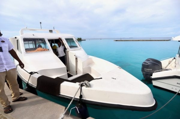 Ayada Maldives speed boat - 1