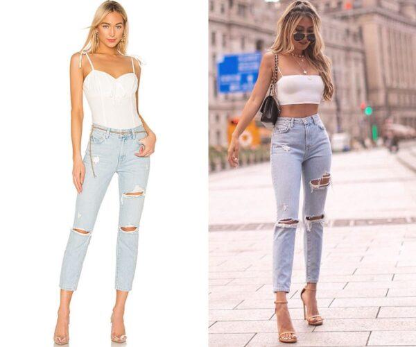 1 Logan Jeans Revolve and Kerina Wang