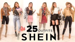 Trying on 25 SHEIN fall pieces