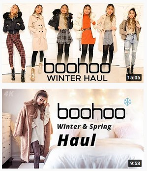 boohoo review haul